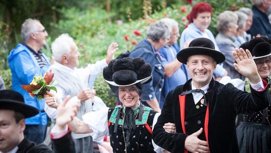 Kreistrachtenfest, Schwarzwälder Freilichtmuseum Vogtsbauernhof
