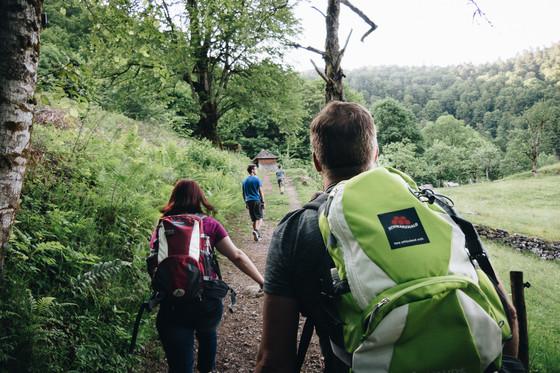 Wandern mit Familie © Chris Keller / STG