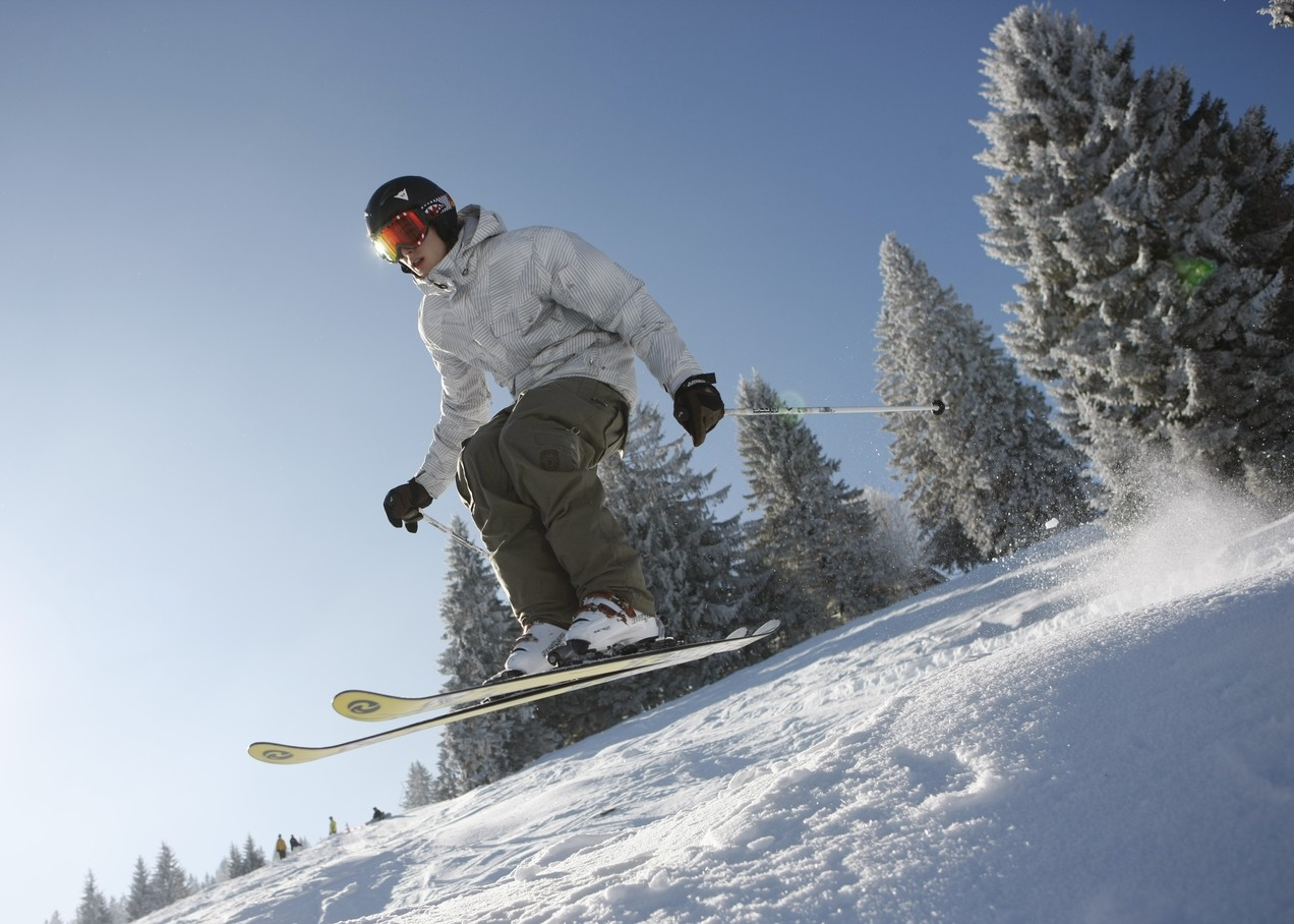 Abfahrt Ski Alpin © Christoph Eberle / STG