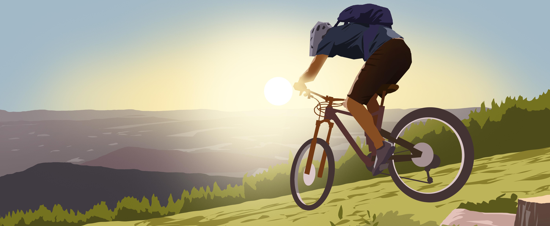 Illustration Mountainbike