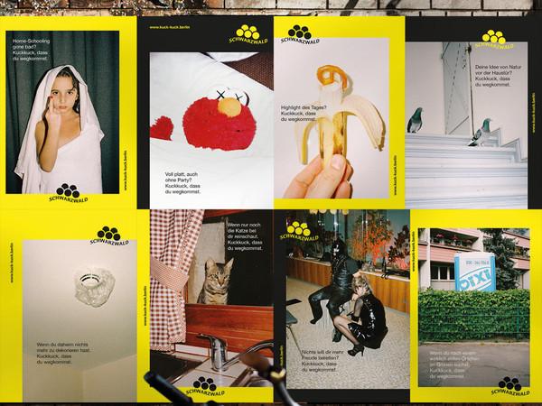 kuck-kuck.berlin Kampagne Collage