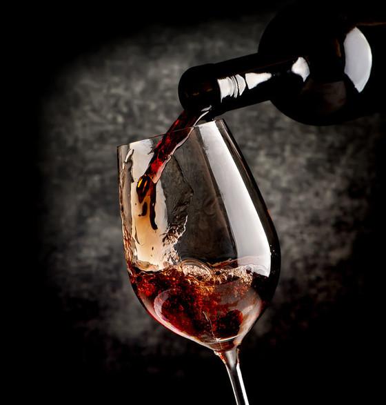 Rotwein Glas ©123RF