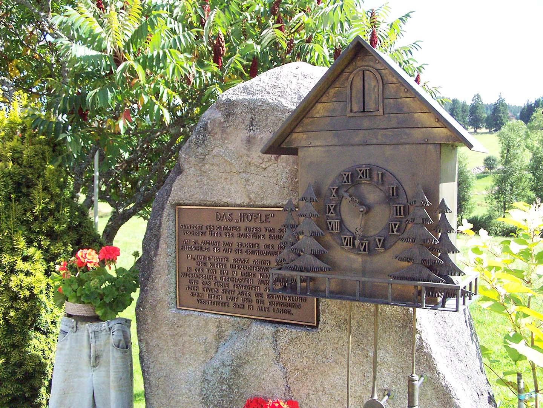 NaDU - Denkmal Kuckucksuhr Schönwald
