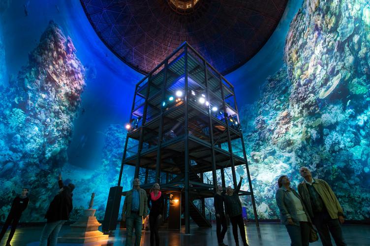 Yadegar Asisi schafft es, dass Menschen dank seiner Panoramen in fremde Welten eintauchen können