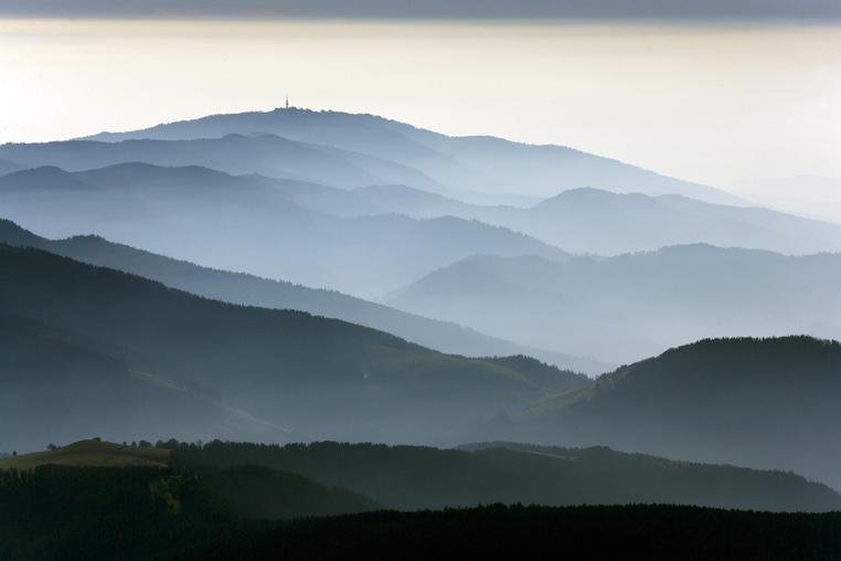 Mytische Schwarzwald Berge