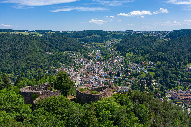 Schwarzwälder Städtchen:  Schramberg