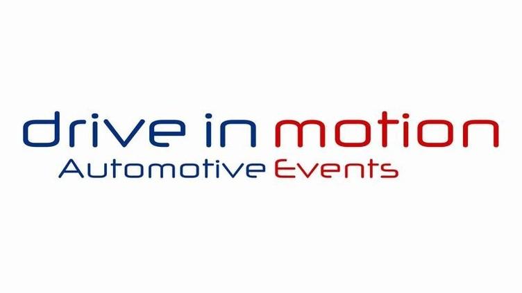 Logo drive in motion