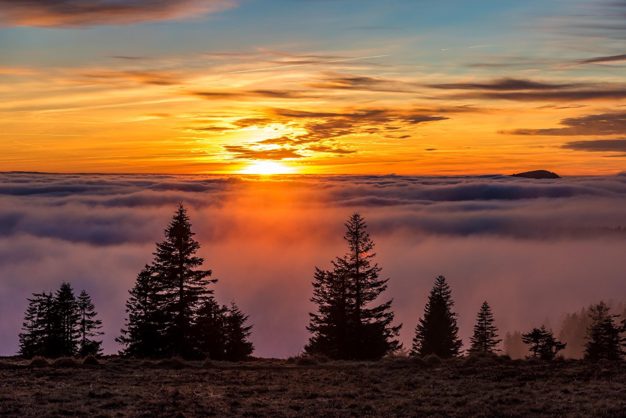 Feldberg Sonnenuntergang