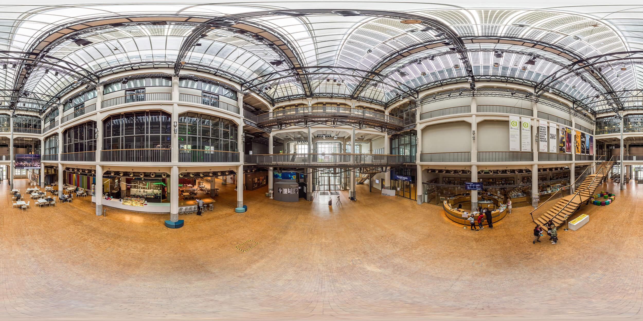 Zentrum für Kunst und Medien Karlsruhe (ZKM) © Chris Keller / STG