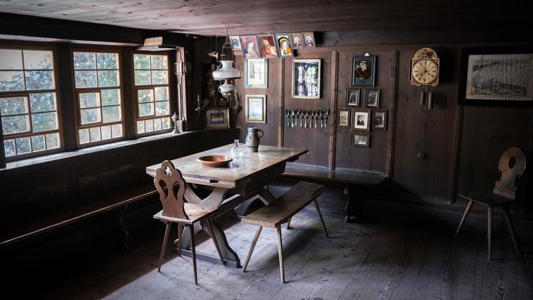 Stube im Freilichtmuseum Vogtsbauernhof Gutach aus dem 17. Jahrhundert