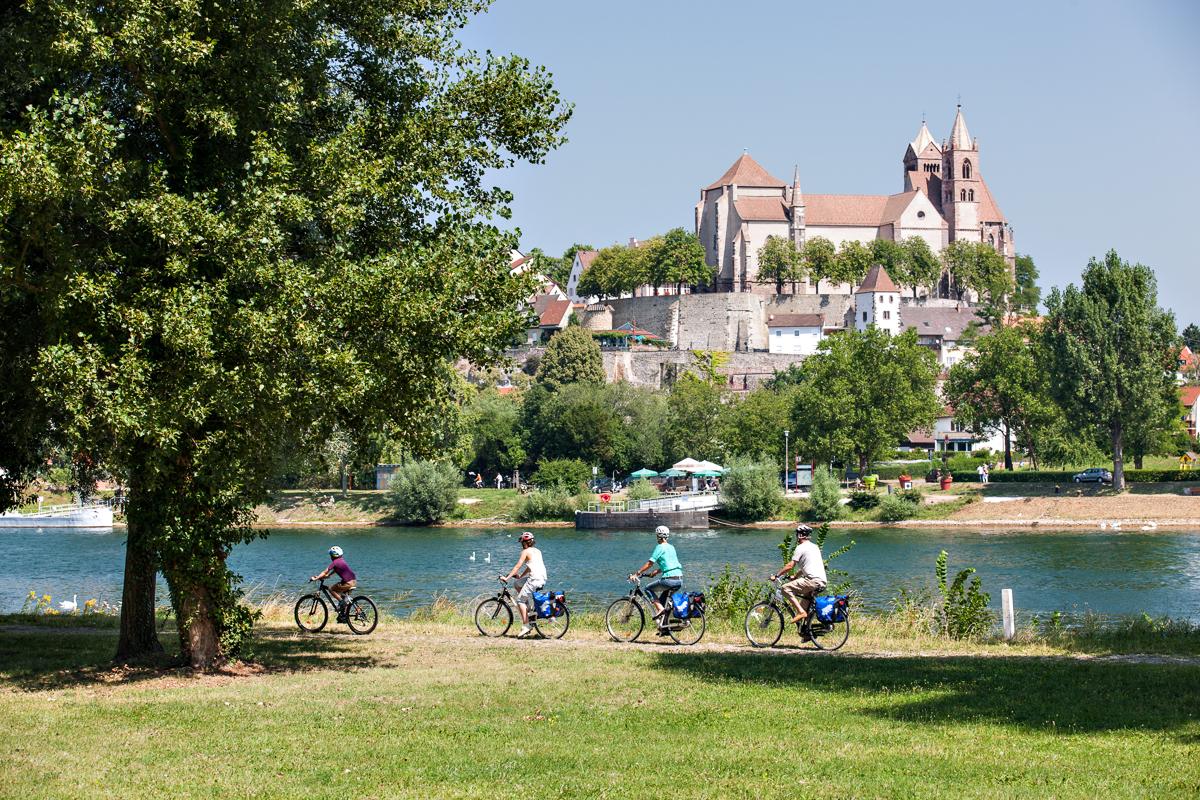 Radfahren in Breisach