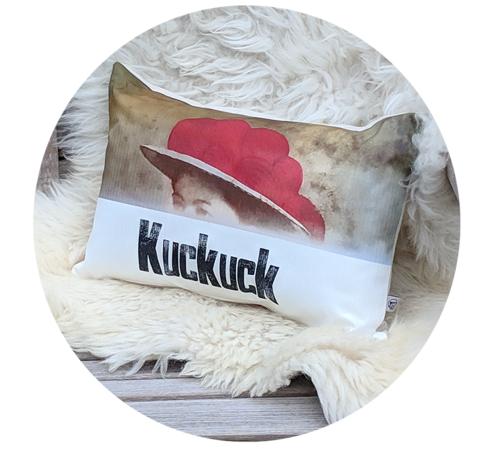 kuckuck-kissen rund