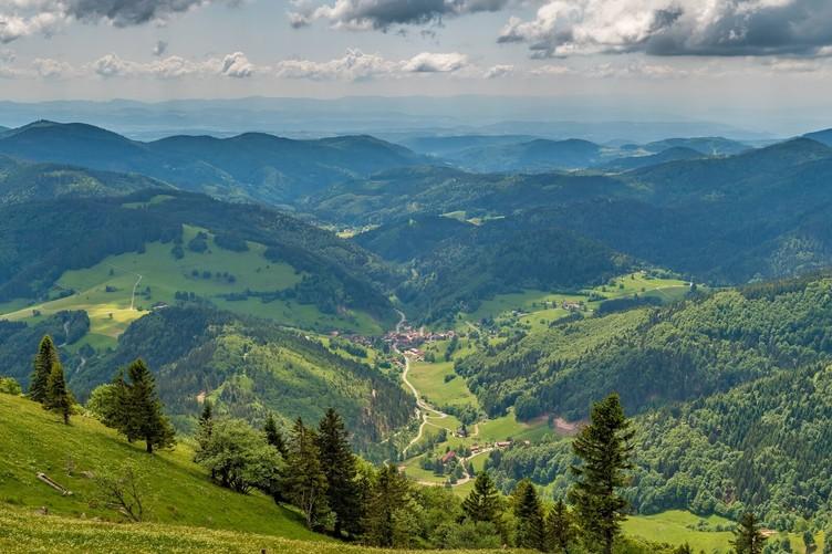 Luftbild Belchen Schwarzwald Köpfe
