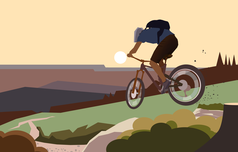 Illustration Bike