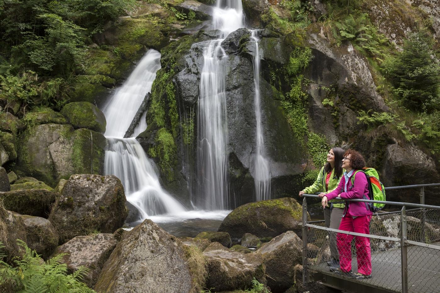Triber Wasserfälle