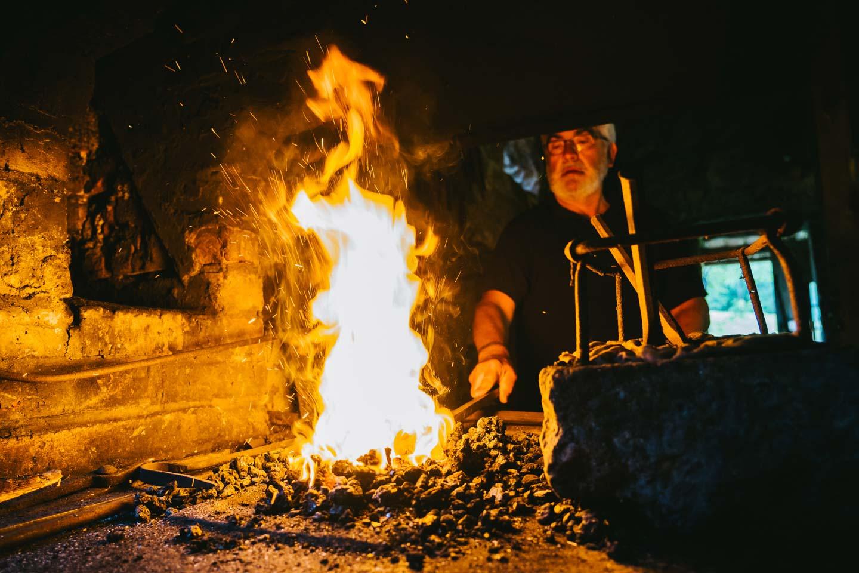 Hammerschmiede Ottenhöfen - Feuer