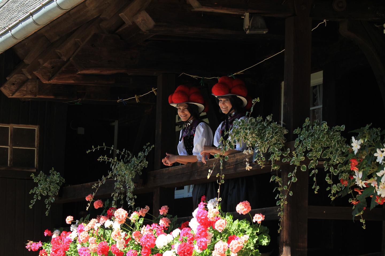 Bollenhutmädels © Hotz/Schwarzwald Tourismus