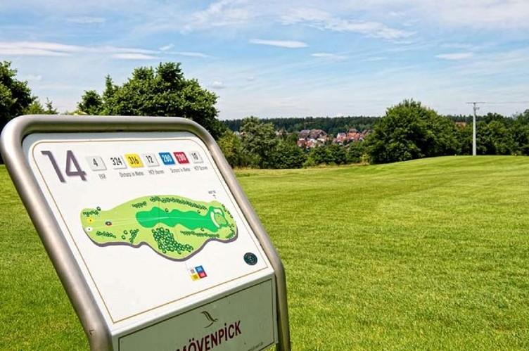 Abschlag 14, Golfclub Bad Liebenzell