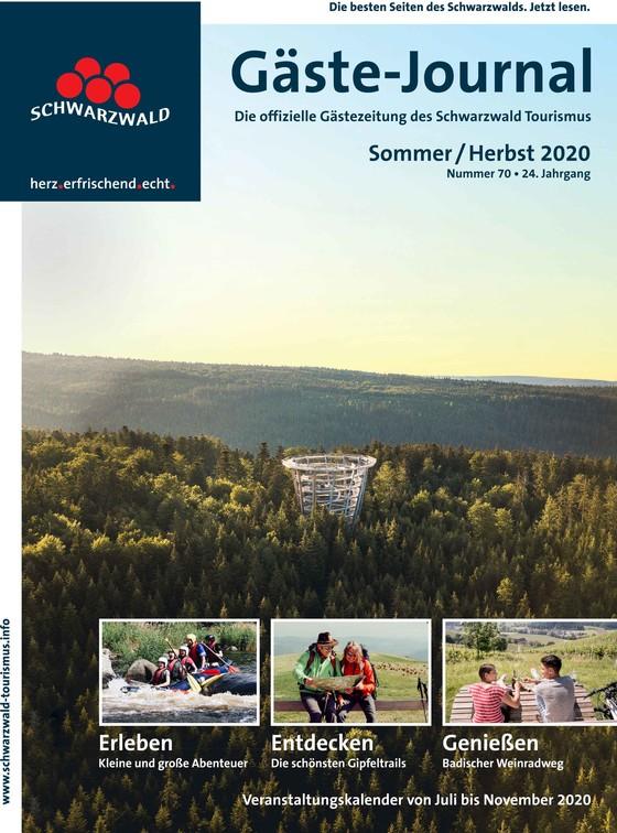 Gäste Journal Sommer  / Herbst 2020