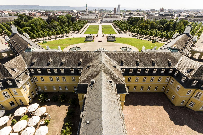 Karlsruhe Blick vom Schloss © Chris Keller / STG