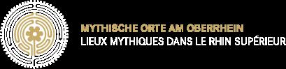 Logo Mythische Orte am Oberrhein