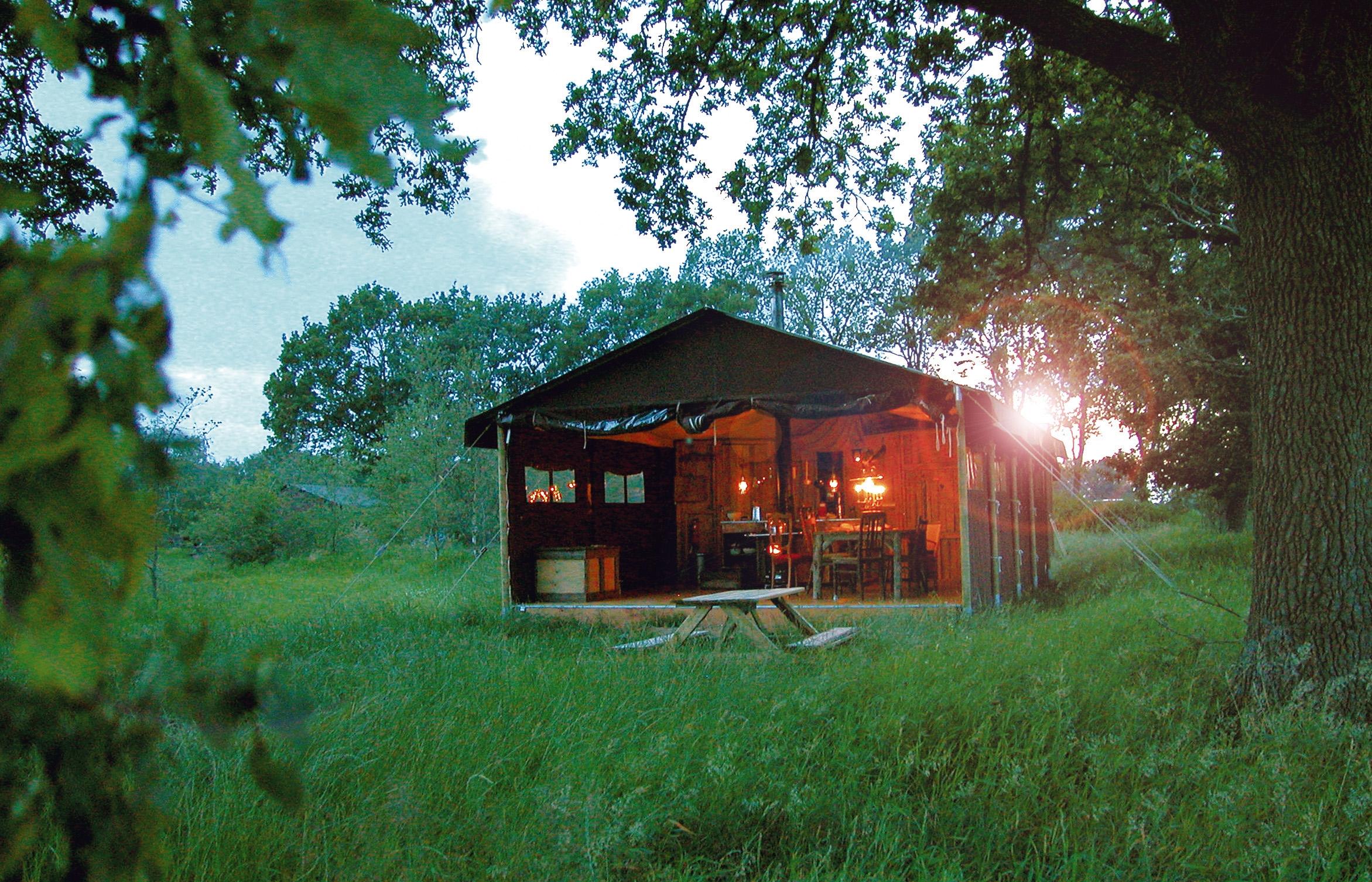 Ausgefallen übernachten im Schwarzwald © Wundervolles Wiesenbett