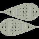 Icon Schneeschuh