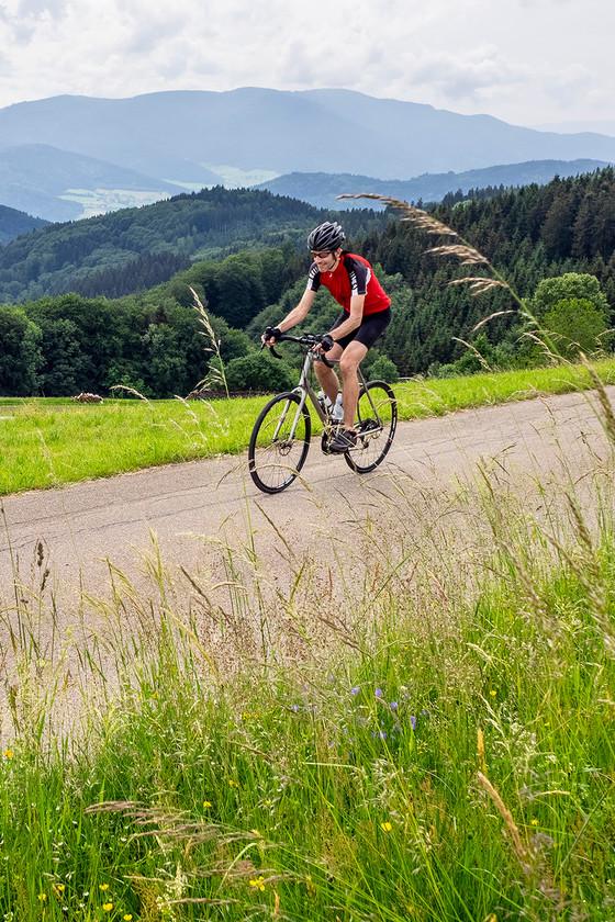Rennrad-Tour genießen