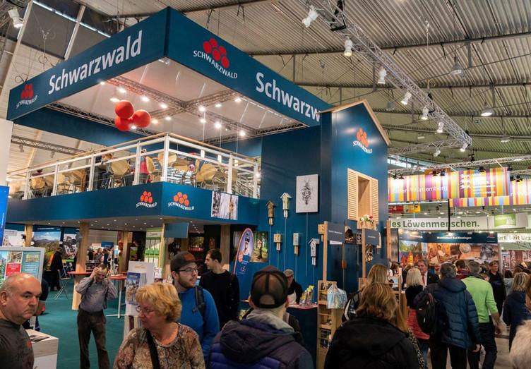 Hauptstand der Schwarzwald Tourismus GmbH auf der CMT in Stuttgart.
