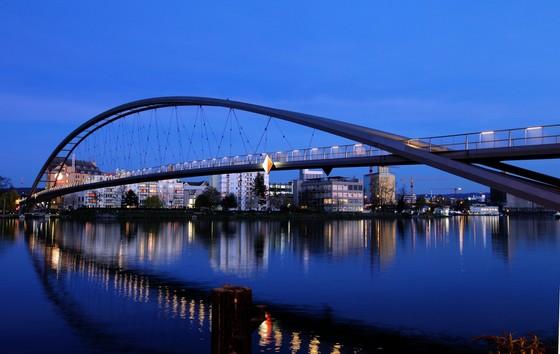 Dreilönderbrücke Weil am Rhein Copyright Oliver Welti