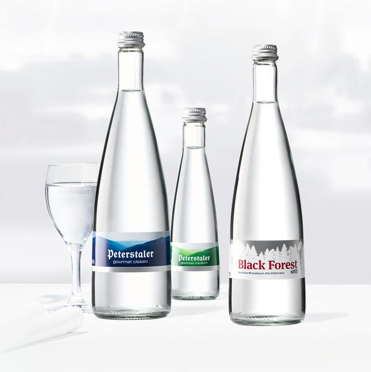 BlackForest Gourmet Wasser © Peterstaler Mineralquellen GmbH