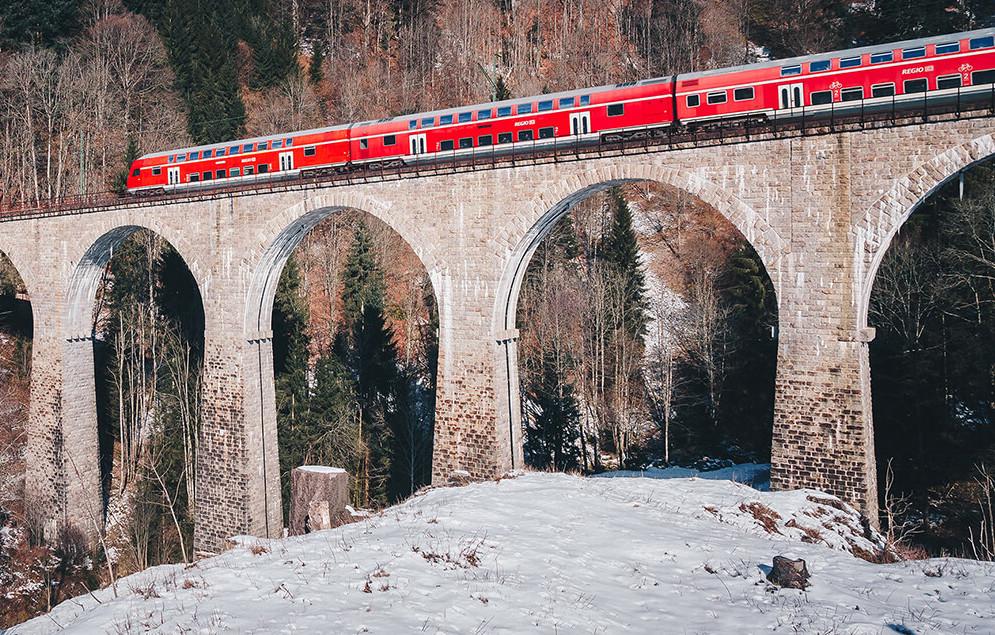 Höllentalbahn Ravennabrücke © Chris Keller / STG