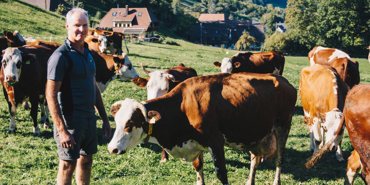 Landwirt Hans-Georg Eble