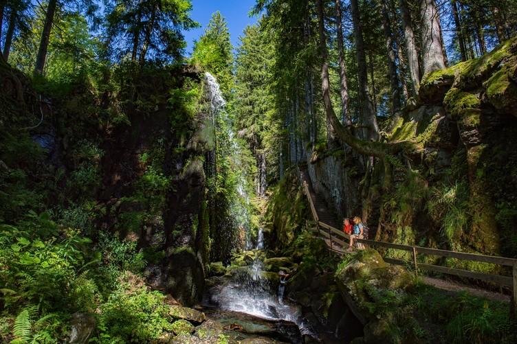 Menzenschwander Wasserfall Albsteig