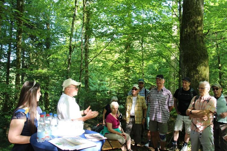 Kulinarikwanderung in Bad Teinach mit Jürgen Rust und Jana I