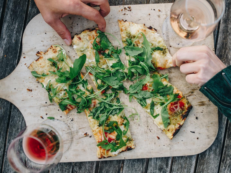 Kulinarik Flammenkuchen © Chris Keller / STG