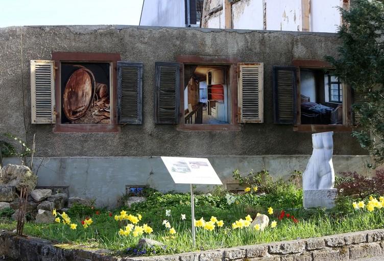 Ein ganzes Dorf wird zum Kunstgegenstand: Das ART-Dorf Ötlingen