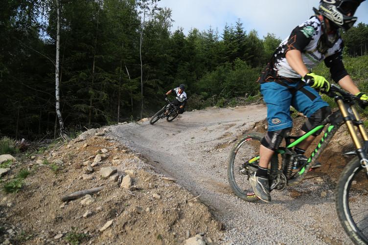Unterwegs in der Mountainbike-Arena in Sasbachwalden