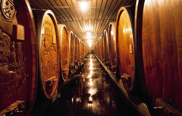 Ein Blick in Europas größte Kellerei: der Badische Winzerkeller in Breisach
